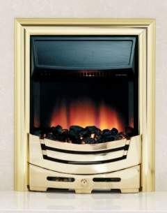 Be Modern Fires Gas and Electric -  Be Modern Bm Signum Electric Fire-brass