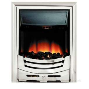 Be Modern Fires Gas and Electric -  Bm Signum Electric Fire-chrome 83682