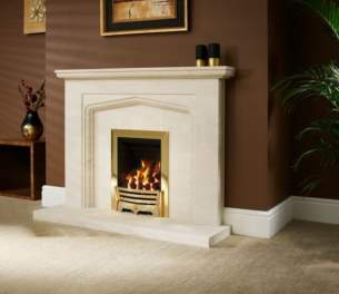 Be Modern Surrounds and Suites -  Bm 54 Inch Bellina Limestone 50mm