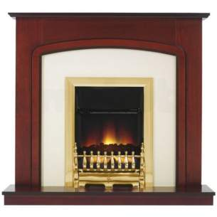 Be Modern Surrounds and Suites -  Bm 42 Inch Ashford Suite Tc- Dark Cherry