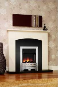 Be Modern Surrounds and Suites -  Bm 42 Inch Ellison Suite- Ivory/black