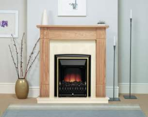 Be Modern Surrounds and Suites -  Be Modern 42 Inch Darras Suite Marfil/nat Oak