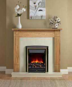 Be Modern Surrounds and Suites -  Bm 48 Inch Darras Eco Nat Oak/marfl Blk Fire