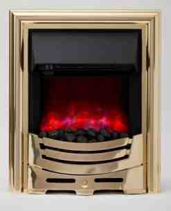 Be Modern Fires Gas and Electric -  Bm Signum Led Electric Fire Brass