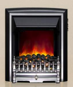 Be Modern Fires Gas and Electric -  Be Modern Bm Comet Electric Fire Chrome