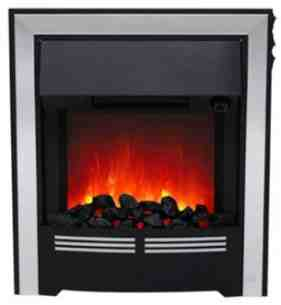 Be Modern Fires Gas and Electric -  Bm Vitesse Electric Fire Chrome 032883