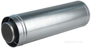 Andrews Storage Water Heaters -  Andrews 500mm Conc Flue Pipe -csc39/59