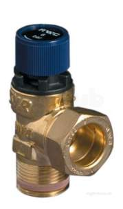 Filling Loop Non Return Valves Strainers -  1/2 Inch 6 Bar Pressure Relief Valve