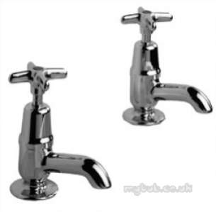 Pegler Quarter Turn Contract Brassware -  Pegler 159 F/restrictor Basin Taps Cp
