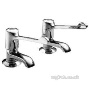 Pegler Quarter Turn Contract Brassware -  Pegler 2159qtel F/restrictor Basin Taps Cp