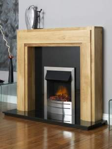 Flavel Gas Fires -  Flavel Ultiflame Cont Brushed S/s Ng