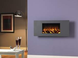 Flavel Electric Fires -  Flavel Marino Xl Graphite Electric