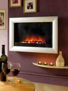 Flavel Electric Fires -  Flavel Inspire Plasma Electric Fire Chrm