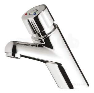 Rwc Water Mixing Products -  Timeflow 4000s Basin Mixer Tap Push 200 070