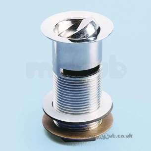 Armitage Grips Levers and Wastes -  Armitage Shanks S8734 1 1/4 Inch Swivel Plug Waste Chrome Plated Solid