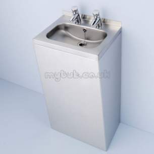Armitage Shanks Commercial Sanitaryware -  Armitage Shanks Denholm Shroud Pol S/s Concealed Fixing