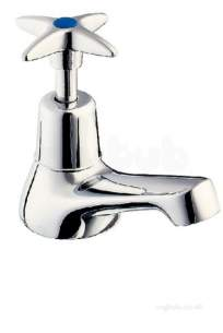 Deva Brassware -  Deva Basin Tap Cross-top 181x Cp Pair