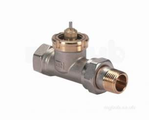Danfoss Randall Commercial Valves -  Danfoss 013u001700 Nickel Rav15/8 Straight Valve 1/2