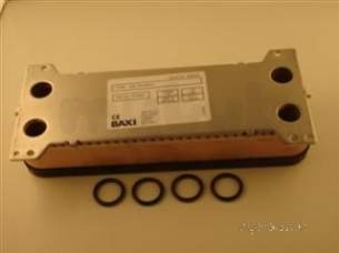 Baxi Boiler Spares -  Baxi 247224 Plate Heat Exchanger Kit