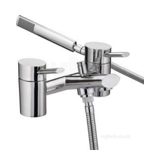 Bristan Brassware -  Ol Bsm C Oval Bath Shower Mixer Cp