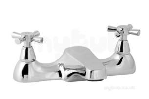 Deva Brassware -  Deva Milan Deck Mount Bath Filler Chrome