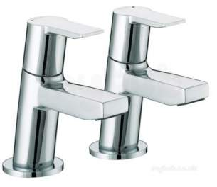 Bristan Brassware -  Bristan Ps 1/2 C Pisa Basin Taps Chrome