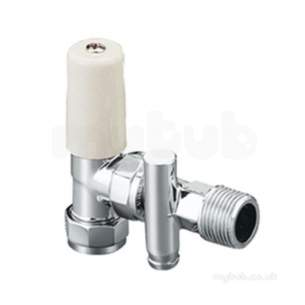 Terrier and Belmont Radiator Valves -  Terrier 367d 15mm X 1/2 Inch Mi Angl Ls/cp Do