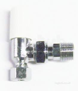 Myson Manual Radiator Valves -  Myson Matchmaster 8mm Ls Valve Cp
