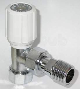 Plumb Center Radiator Valves -  Cb 8/10mm Wh/ls Straight Rad Valve Cp