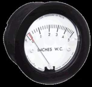 Dwyer Instruments Magnehelic Gauges -  Dwyer 2-5000 1.0kpa Range Minihelic Gauge