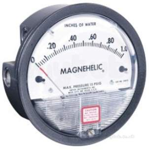 Dwyer Instruments Magnehelic Gauges -  Dwyer 2000 0-125pa Range Magnhelic Gauge