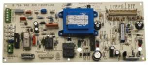 Worcester Boiler Spares -  Worcester 87161023390 Hflow 400 Rsf Pcb