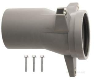 Worcester Boiler Spares -  Worcester 87107352740 Exhaust Pipe Union