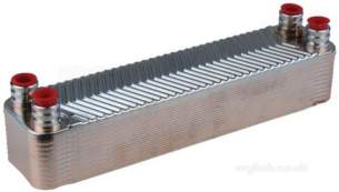 Imi Water Heating Spares -  Powermax P791 22 Plate Heat Exchanger
