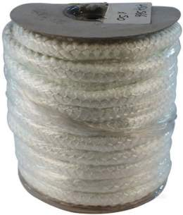 Miscellaneous Boiler Spares -  19mm Glass Fibre Rope 25m Roll Only