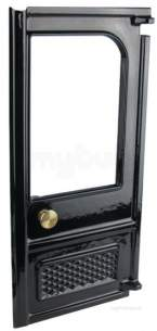 Charnwood Solid Fuel Spares -  Charnwood 003/rw02bl/a Door Complete Rh