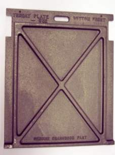 Charnwood Solid Fuel Spares -  Wells Charnwood 002/fw32 Throat Plate