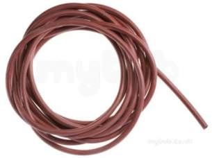Worcester Boiler Spares -  Worcester 87161010810 Red Silicon Tubing