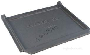 Parkray Boiler Spares -  Parkray 115018 Throat Plate