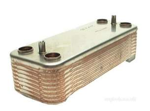 Vokera Boiler Spares -  Vokera 8037 Domestic Heat Exchanger