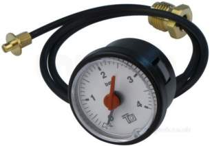 Broag Remeha -  Broag S62733 Pressure Gauge And Capilliary