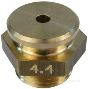 Broag Remeha -  Broag 21699 Injector Burner D-4.40 1/2 Inch