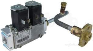 Robinson Willey Boiler Spares -  Robinw Sp987451 Twin Solenoid Valve