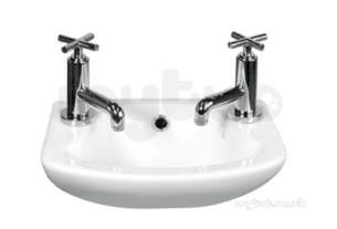 Eastbrook Sanitary Ware -  27.9081 Loire 360x260 Cloakroom Basin 2th