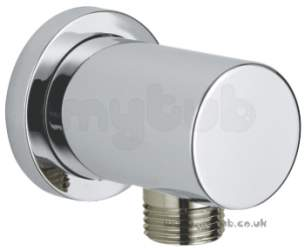 Grohe Shower Valves -  Minimalist 27057000 Elbow Circle Plate
