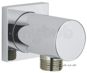 Grohe Shower Valves -  Minimalist 27076000 Elbow Square Plate