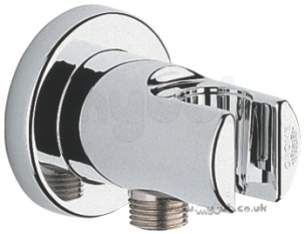 Grohe Shower Valves -  Relexa Plus 28628 Shower Outlet Elbow Cp