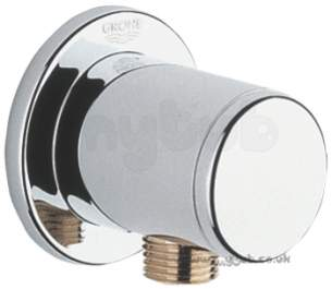 Grohe Shower Valves -  Grohe Relexa Plus 28636 Elbow Outlet Cp