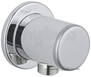 Grohe Shower Valves -  Grohe Hg 28678 Relexa Plus Wall Union 1/2 28678000