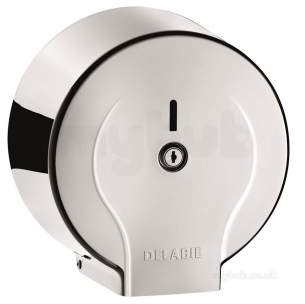 Delabie Toilet Paper Dispenser 200m Polished 304 Stainless Steel